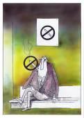 Yes Smoking — Stock Photo