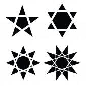 Vector símbolo de estrella — Vector de stock