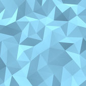 Blue background abstract polygon triangle — Stock Photo