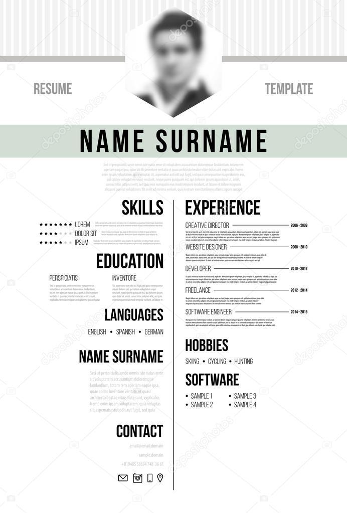 german cv or resume