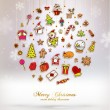 Christmas Set of Elements — Stock Vector #70413875