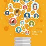 Social Network Vector Concept — Stock Vector #70416493