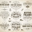 Set of Retro Vintage Insignias and Logotypes. — Stock Vector #70417867