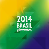 Brazil Summer 2014 Background — 图库矢量图片