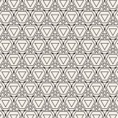 Seamless Pattern with Geometric Tiles — Stock Vector