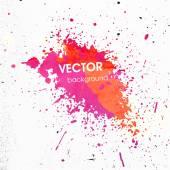 Colorful Paint Splash — Stock Vector