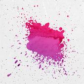 Purple Paint Splash — Stock Vector