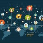 Social Network Vector Concept — Stock Vector #70421649