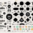 Set of Vintage Hipster Labels — Stock Vector #70421939