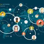 Social Network Vector Concept — Stock Vector #70423189