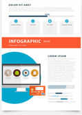 Applications and Online Services Infographic — Stock Vector