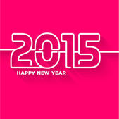 New Year abstract Creative Greeting Card — 图库矢量图片