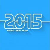 New Year abstract Creative Greeting Card — Stockvektor