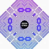 Motif géométrique abstrait — Vecteur
