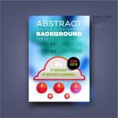 Modern Template for Business Brochure — Vecteur