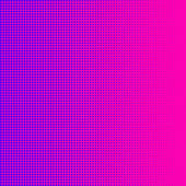 Purple halftone on pink background — Foto Stock