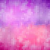 Purple and pink pixel background — Stock Photo