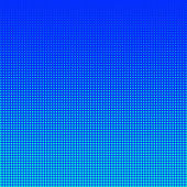 Demi-teinte turquoise sur fond bleu — Photo