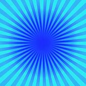 Blue Sun Sunburst Pattern — Stock Photo
