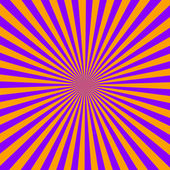 Yellow and purple color burst background — Stock Photo