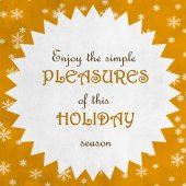 Merry Christmas Season Greetings Quote — Stock Photo