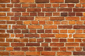 Red brick wall background texture — Stock Photo