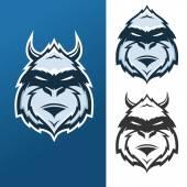 Yeti mascot for sport teams — Stock Vector