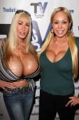 Elizabeth Starr, Mary Carey — Stock Photo