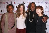 Hilary Swank, Frances Fisher, Michael Beckwith, Rickie Byars Beckwith — Stock Photo