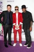 Scooter Braun, Justin Bieber, Usher — Stock Photo