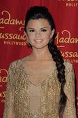 Selena Gomex Wax Figure — Stock Photo