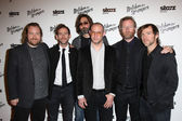 Tom Berninger, Bryce Dessner, Aaron Dessner, Bryan Devendorf, Matt Berninger and Scott Devendorf — Stock Photo