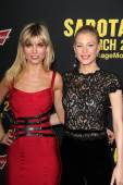 Eugenia Kuzmina and Cynthia Kirchner — Stock Photo