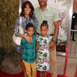 Постер, плакат: Nicole Ari Parker Boris Kodjoe and children