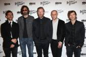 Bryce Dessner, Bryan Devendorf, Matt Berninger, Scott Devendorf and Aaron Dessner — Stock Photo