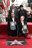Trey Parker, David Copperfield, Penn Jillette, Teller — Stock Photo