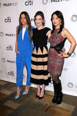 Chloe Bennet, Elizabeth Henstridge and Ming-Na Wen — Stock Photo
