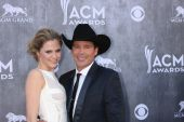 Jessica Craig and Clay Walker — Stock Photo