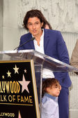 Orlando Bloom and son Flynn Bloom — Stock Photo