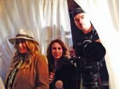 Jennifer Blanc, Hallie Jordan, Mike Skillsky — Stock Photo