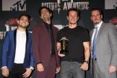 Jerry Ferrara, Adrian Grenier, Mark Wahlberg and Kevin Dillon — Stock Photo