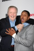 Jon Voight and Pooch Hall — Stock Photo
