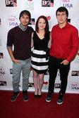 Anthony Guajardo, Madisyn Avila and Noah Dahl — Stock Photo