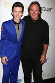 Drake Bell and father Joe Bell — Stock Photo