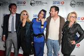 David Arquette, Rosanna Arquette, Alexis Arquette, Richmond Arquette and Patricia Arquette — Stock Photo