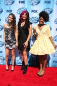 Kristen O'Connor, Jessica Meuse and Majesty Rose — Stock Photo