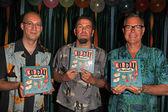 Charles Phoenix, Stuart Sandler, Derek Yaniger — Stock Photo