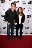 Trevor Morgan and Elizabeth Rice — Stock Photo
