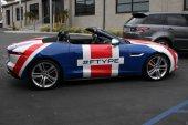 2014 Jaguar F Type Convertible — Stock Photo