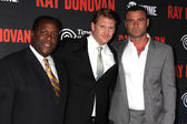 Wendell Pierce, Dash Mihok and Liev Schreiber — Stock Photo